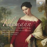 COMPLETE CONCERTOS AND TRIO SONATAS 5 CD NEU TELEMANN,GEORG PHILIPP