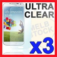 3x Ultra Clear Screen Protector Film Skin for Samsung Galaxy S4 SIV i9500 i9505