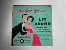 "Les Brown - Your Dance Date With VINYL Record 10"" CL 6123"
