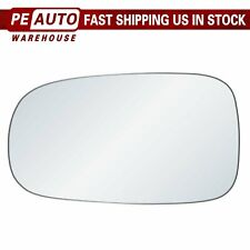 Mirror Glass Full Adhesive For 03-11 Saab 9-3 9-3x 93 9-5 Left Driver Side (Fits: Saab 9-5)