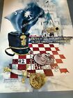 VTG The Citadel Bulldogs Poster Signed by Artist Margaret Hall Hoybach - RARE!