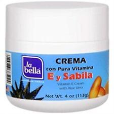 La Bella Vitamin E Cream with Aloe Vera 4 oz