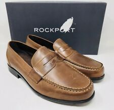 Rockport Men's Classic Penny Loafer Size 9 Cognac  Leather MSRP $130