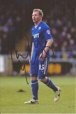 CHESTERFIELD * RITCHIE HUMPHREYS SIGNED 6X4 ACTION PHOTO+COA