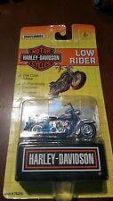 Matchbox Low Rider 1992 Harley Davidson Die-cast Car Blue & Black NIP