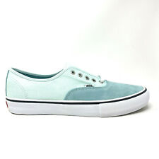 Vans Authentic Pro Aqua Haze Soothing Sea Men's 13 Skate Shoes New