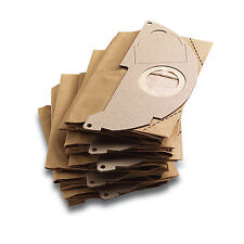 Karcher Genuine Paper Vac Bags (pack of 5) Suitable for WD2.200, MV2