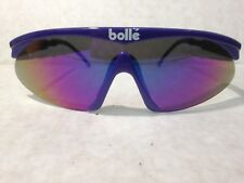 VINTAGE BOLLE WRAP ROUND SUNGLASSES and case 1990's