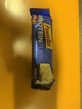 PowerBar Protein Plus Bar Vanilla 2.12 Ounce Each Bar Pack of 15 Exp 12/19-4/20