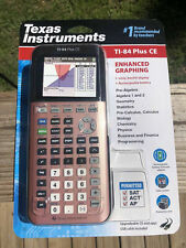 Texas Instruments Ti-84 Plus CE Plus Graphing Color Calculator - Rose Gold