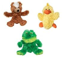 """Small Dog Toys Soft Plush Replaceable Squeaker Unstuffed Pick Frog Bear Duck 3"""""""