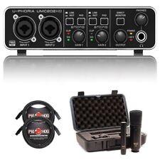 Behringer U-phoria Umc202hd - USB 2.0 Audio Interface With MXL 440/441 Recording