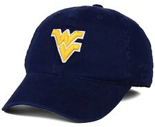 separation shoes a360e 6c358 Top of The World West Virginia Mountaineers Navy Relaxer 1fit Flex Hat