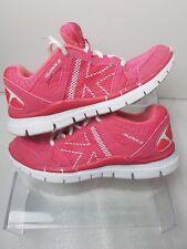 Karrimor Pink/White  Girl DUMA 2 Running Shoes White Lace Size UK 13 EU 31
