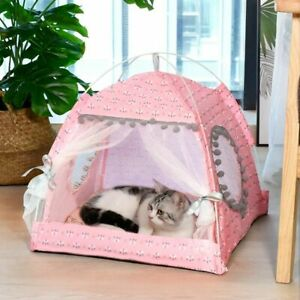 Cat Tent Nest Warm Puppy Sleeping Bed Small Dog House Indoor Home Decoration
