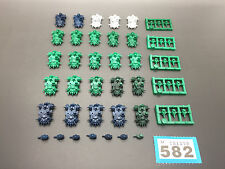 GAMES WORKSHOP WARHAMMER 40,000 SPACE MARINE EPIC SPACE ORK BATTLEWAGONS X 25