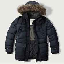 NWT  Abercrombie & Fitch Hooded Puffer Parka Down Jacket men's size XL  NEW