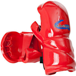 Macho Genesis Punch Sparring Gloves - Red