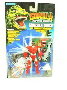 Godzilla King of the Monsters Godzilla Force Action Figure NIB Trendmasters 1994