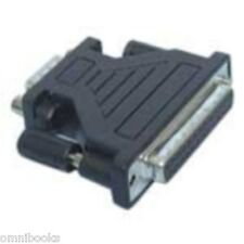 9-Pin DB9 Male to 25-Pin DB25 Female RS-232 Serial Port Adapter DB9M DE9M DB25F