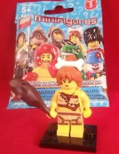 Lego Minifigure Series 5 Cave Woman with Club !