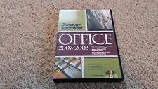 DiscoverWare - Discover Microsoft Office 2007/2003 - Application Training DVD