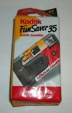 Kodak Fun Saver 35mm Flash Camera 27 Exposures New Exp. 2004
