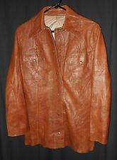 Scully Women's Leather Shirt Jacket Simple Style Hippy Boho Cowgirl 14