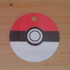 Pokemon Inspired Custom Ball Shape Backpack Bag Tag/Christmas Ornament Pokeball