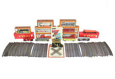 Vintage Tyco HO Scale Train Set Lot 75 Pcs Illinois & Santa Fe Engines TESTED