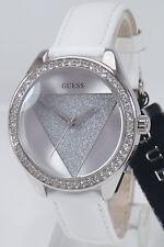 Guess Uhr Uhr Damenuhr W0884L2 Leder Markenuhr Armbanduhr NEU
