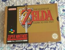 THE LEGEND OF ZELDA A LINK TO THE PAST SUPER NINTENDO SNES OTTIMO