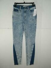 Guess Women's Denim Mixed Media Skinny Jeans NWT Size 26 X 29 MSRP $108 A1
