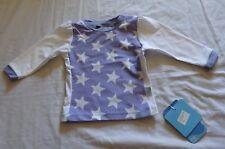 Baby Girl size 0 Purple white stars Long sleeve Rash vest UPF50+ White Soda NEW