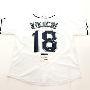 Yusei Kikuchi signed jersey PSA/DNA Seattle Mariners Autographed