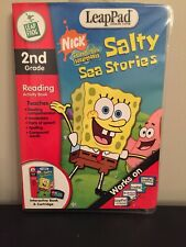 LeapFrog LeapPad - SpongeBob Salty Sea Stories - 2nd Grade Reading New Sealed