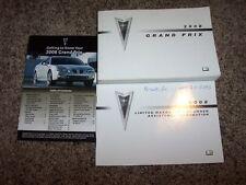 2008 Pontiac Grand Prix Owner User Guide Operator Manual GXP 3.8L 5.3L V6 V8