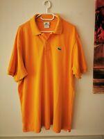 LACOSTE Herren Polo Shirt Kurzarm Gr. 7 XXL gelb   #LRM418