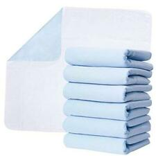 """Washable Underpads, Pack of 6 Large Bed Pads, 30"""" x 34"""", 6 Count (Pack of 1)"""