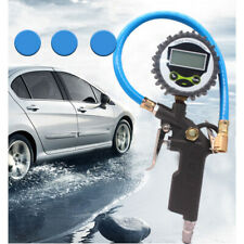 Digital Tire 250 PSI Inflator with Pressure Gauge Air Chuck for Truck/Car/Bike