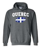 Canada Quebec  Unisex Hoodie Hooded Sweatshirt
