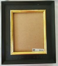 Italian Style 11 x 13 Picture Frame Embossed Corners Gold Liner Handcrafted
