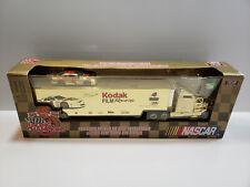 99 RACING CHAMPIONS 1:64 NASCAR BOBBY HAMILTON KODAK #4 CAR & TRUCK transporter