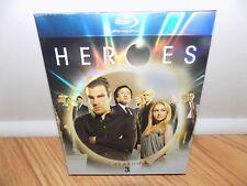 Heroes - Season 3 (Blu-ray Disc, 2009, 5-Disc Set) BRAND NEW, SEALED