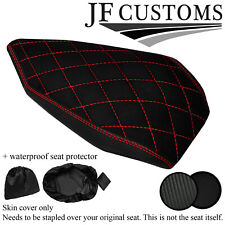 DSG4 RED STITCH CUSTOM FOR DUCATI PANIGALE 899 1199 REAR SEAT COVER + WSP