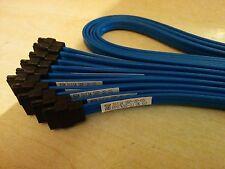 10 x DELL . FOXCONN  blue SATA cables  J8314  33ins / 85 cms