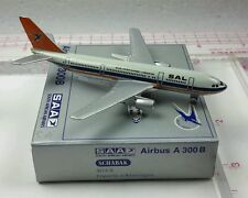 New Vintage Schabak SAA(SOUTH AFRICAN AIRWAYS) Airbus A300 B Diecast 1:600 scale
