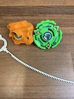 M-Turtle Beyblade Ripcord and Launcher (left Hand) Hasbro Original