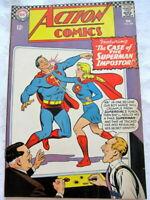 ACTION COMICS Feb #346, SUPERMAN, SUPERGIRL, DC Comics 1967  9.0 NM/VF+