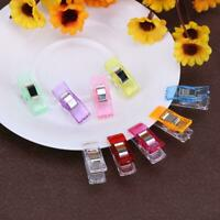 50pcs/set Multi-color Plastic Clips for DIY Craft Quilting Patchwork Sewing